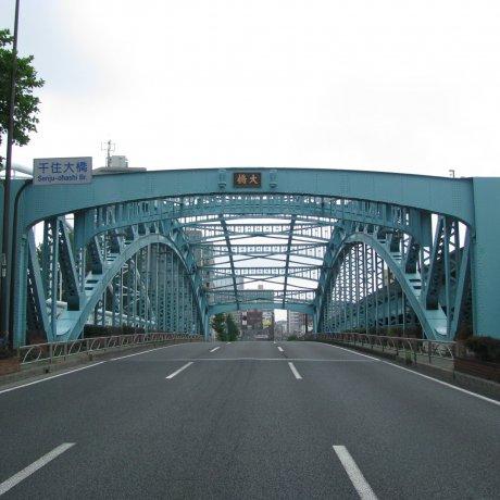 The Surrounds of Senju Ohashi Bridge
