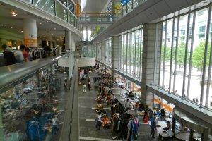 Two floors of flea market!