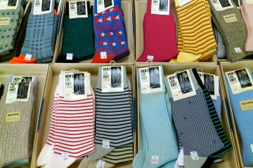 Some of the more conventional socks.