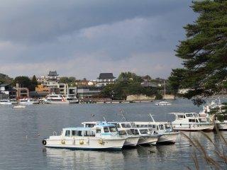 A view of Matsushima Kaigan