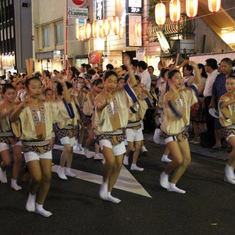 The Kagurazaka Matsuri