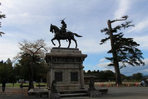 A monument to Date Masamune