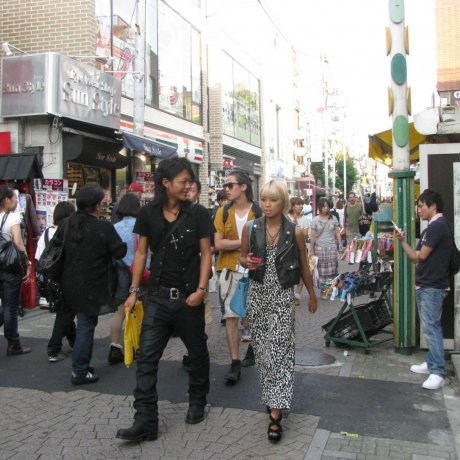 Two Fashion Streets of Tokyo
