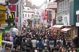Takeshita Dori is always crowded
