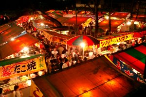 Yatai street stalls are part and parcel of any festival, especially one that attracts over 750,000 visitors....