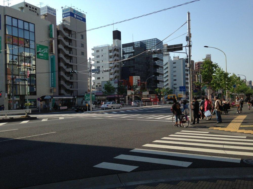 Велосипедистов в Токио можно встретить повсюду