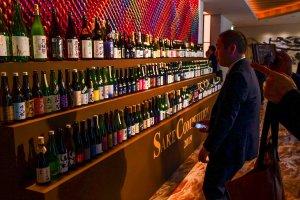 高品質な多種多様のお酒がずらり