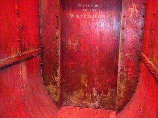 """""""Шипящая"""" дверь"""
