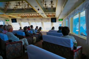 Inside the Aurora II cruise ship