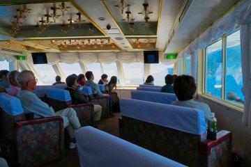 Inside the Aurora II cruise ship