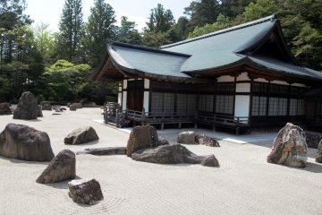 Banryutei Rock Garden, part of Kongobu-ji Head Temple