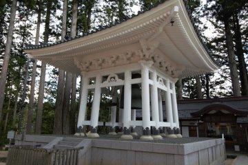 Bell building within Koyasan