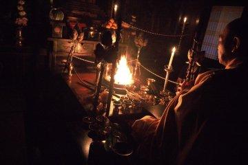 Goma Fire Ritual at Rengejo-in