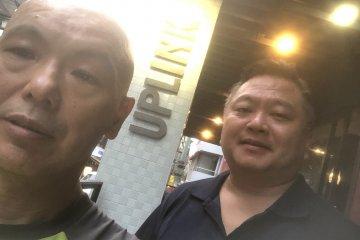 Mike Kato (left) and George Nagatsuka (right)