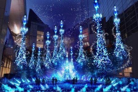 카레타 시오도메 겨울 일루미네이션