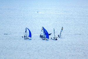 Yachts in Sagami Bay