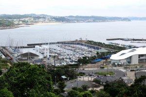 The Enoshima Yacht Harbor