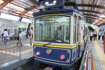 Поезд линии Энодэн