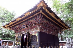 The Mausoleum of Date Masamune