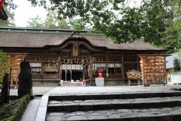 Один из старейших храмов Сэндая - Осаки Хатимангу