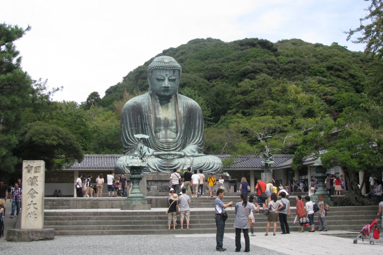 Kamakura Daibutsu is over 500 years old