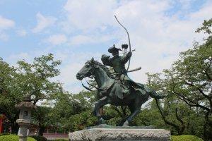 Minamoto no Yoritomo - the founder of the very first shogunate in Japan