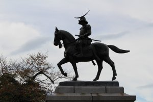 Date Masamune is the founder of Sendai City