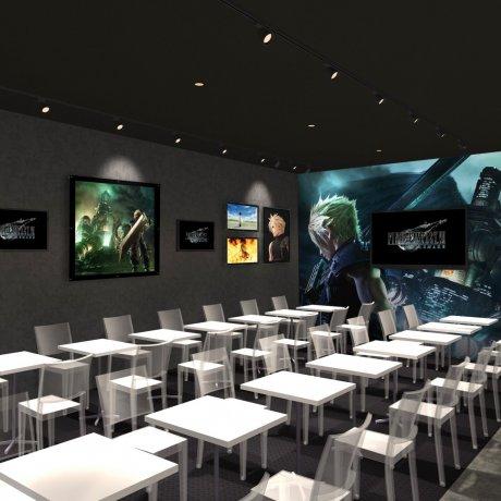 Limited-Time Final Fantasy VII Café