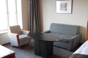 Executive Twin room - very spacious and relaxing