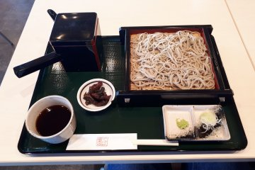 Excellent soba for lunch