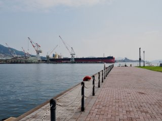 It is located in the city port, just a 15 minute walk from the JR Station.