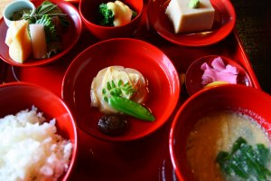 It's also a component in many kaiseki meals