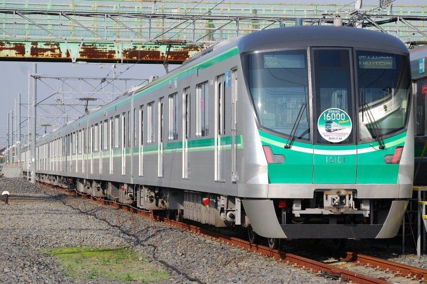 Chiyoda Line train