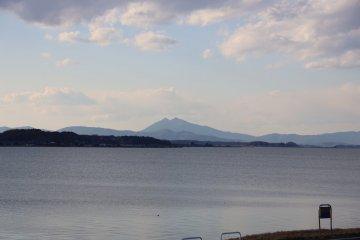 筑波山的景色