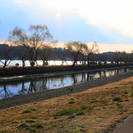 Senba Park in Mito City