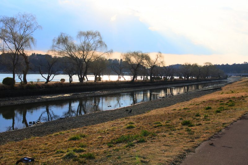 The scenery of Lake Senba