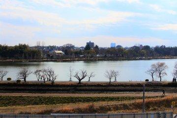The beautiful Lake Senba