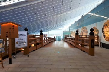 Haneda Airport really is beautifully designed