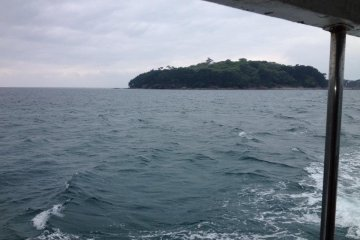 Island from the ferry