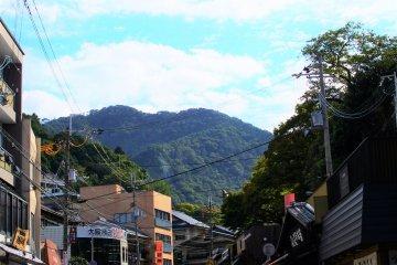 Arima hot spring street