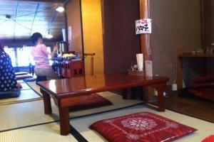 upstairs tatami room
