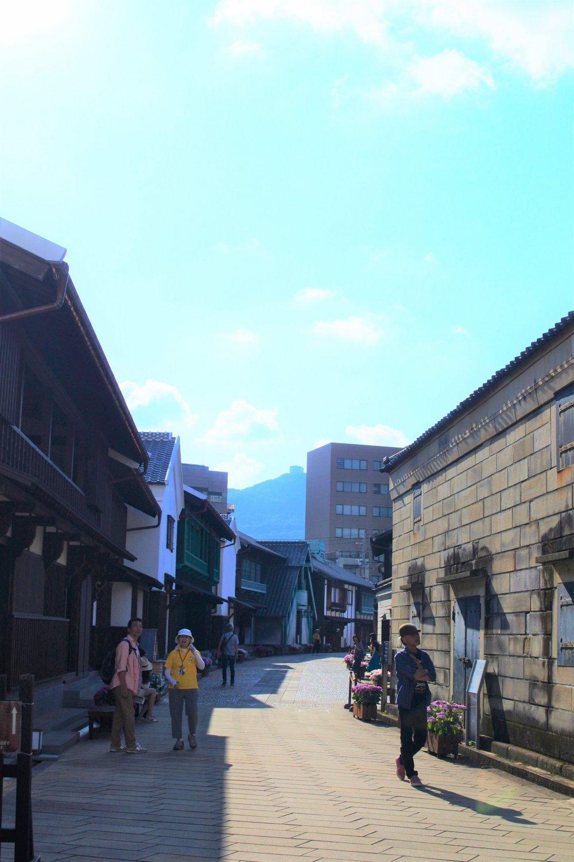 The nice scenery of Dejima