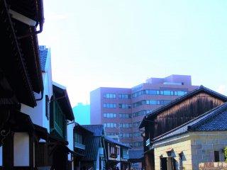 The scenery of Dejima