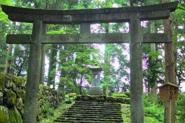 Hongu Shrine in Nikko
