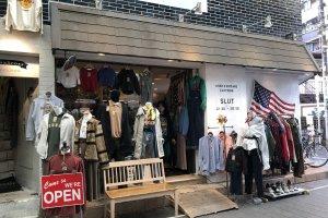 'SLUT' Cửa hàng quần áo đã qua sử dụng