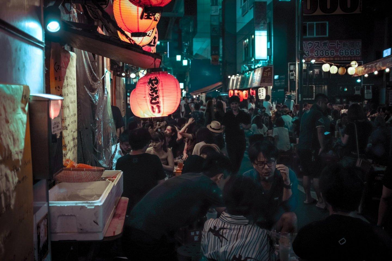 Cuộc sống về đêm tại Koenji