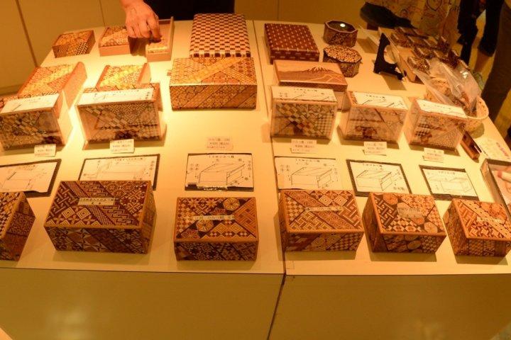Wood Mosaic and the Magic Box
