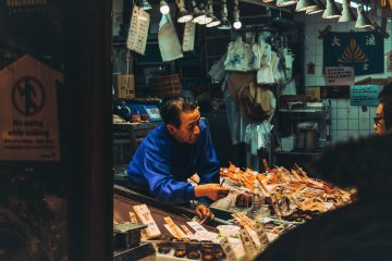 Traditional produce markets span the length of Japan, from Otaru to Naha
