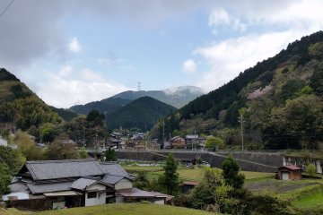 The view from Amami Station