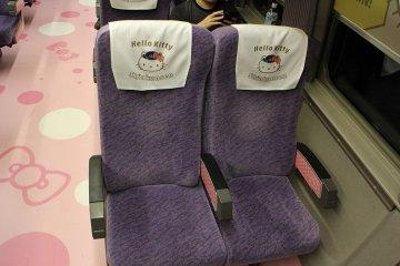 Those plush seats looks so comfortable!